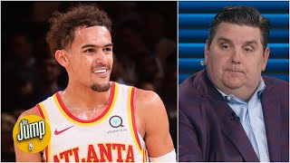Trae Young has thrived in the pressure of the playoffs – Brian Windhorst | The Jump