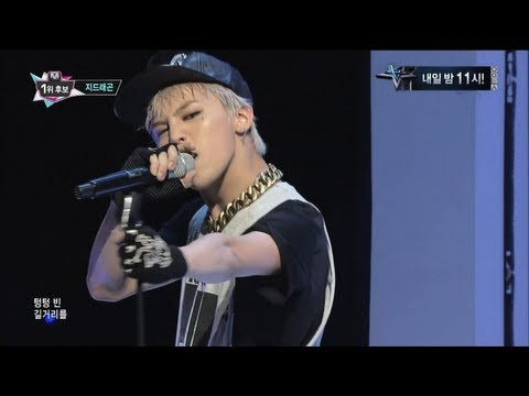G-DRAGON_0926_M Countdown_삐딱하게(CROOKED) + No.1 of the week
