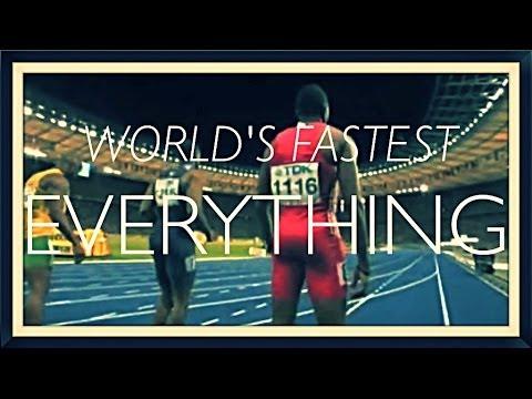 Tous les plus rapides du monde