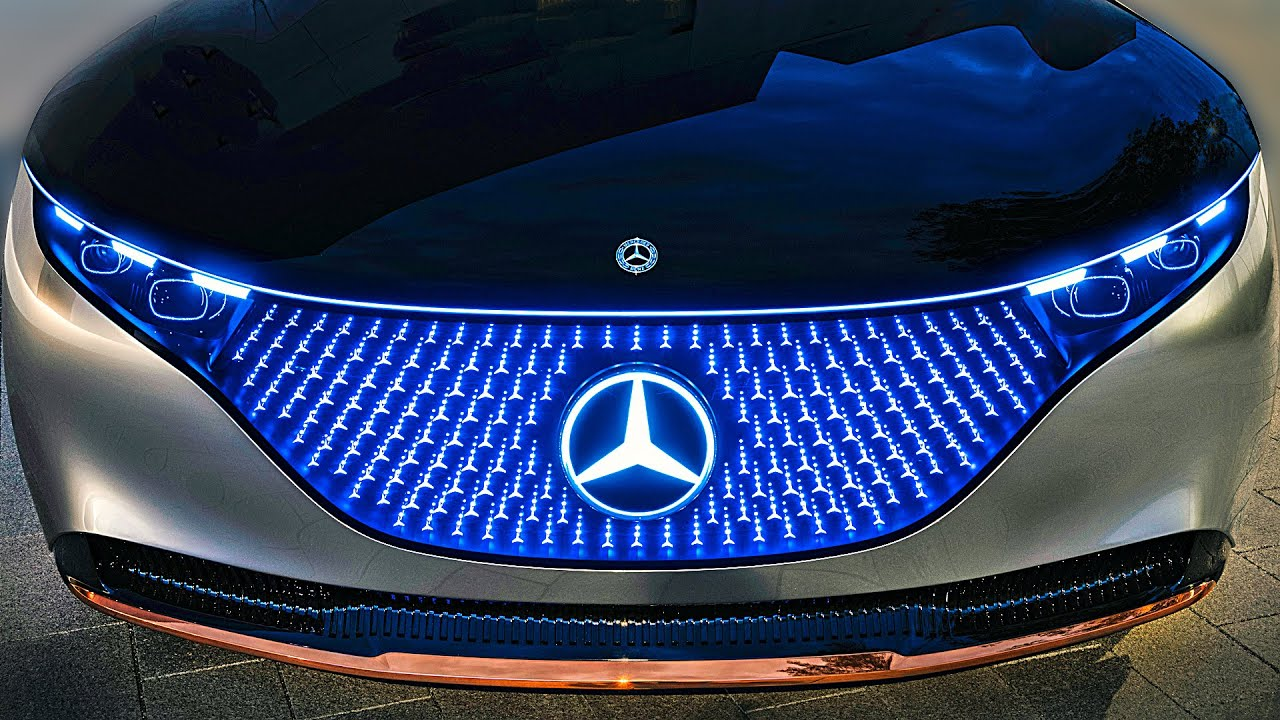 Mercedes-Benz Vision EQS – Next-Gen Mercedes S-Class
