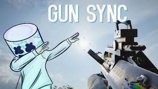 Gun sync R6S Marshmello ft. Khalid - Silence