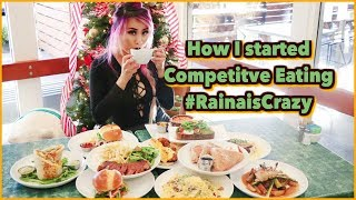 "How I Started Competitive Eating - Advice to Future ""Eaters"" - Colette in Pasadena"