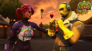 RAPTOR IS A HERO ON HIS BIG DATE! - Fortnite Short Film