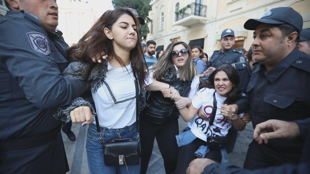 Баку: акция против насилия над женщинами не обошлась без насилия