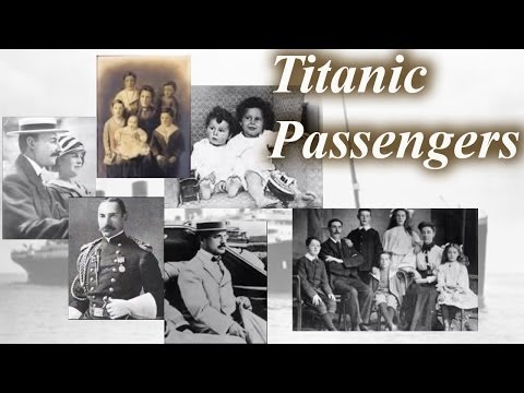 Who Were the Titanic Passengers