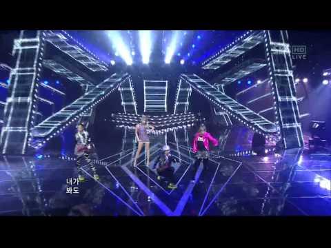 [11.07.10] 인기가요 2NE1 [내가 제일 잘 나가]