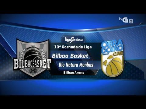 Bilbao Basket vs Rio Natura Monbus