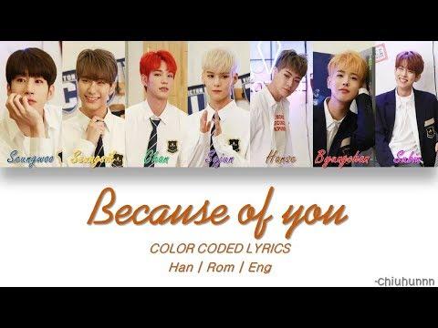 VICTON (빅톤) – 사랑하기 때문에 (BECAUSE OF YOU) Lyrics [Color Coded Han | Rom | Eng]