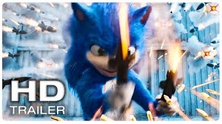 SONIC THE HEDGEHOG Trailer #1 Official (NEW 2019) Animated Movie HD