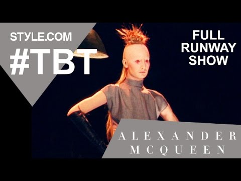 Alexander McQueen Joan Collection Fall 1998 Full Runway Show - #TBT w/Tim Blanks - Style.com