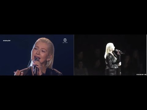 WHAT REALLY HAPPEN WHEN CHRISTINA AGUILERA SANG I WILL ALWAYS LOVE YOU