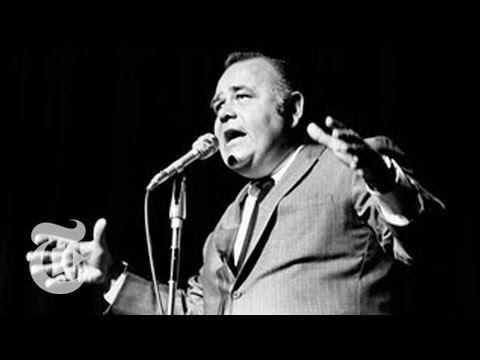 A Video Mash-up of Funny Moments From Jonathan Winters's Career