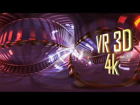 DUBSTEP tunnell VR 3D 360 by 3D SPLOSHNOFF