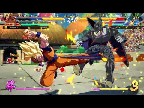 Dragon Ball FighterZ - Gohan (teen) vs. Goku Black