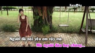 [Karaoke] Con tim mong manh - Miu Lê (Full beat)