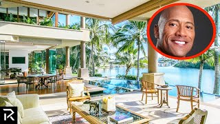 Inside The Rock's $100 Million Dollar Mansions