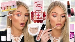 TESTING NEW VIRAL OVERHYPED MAKEUP   GET READY WITH ME