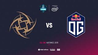 NiP vs OG, ESL One Katowice 2019, bo3, game 1, [Adekvat & Lumisit]