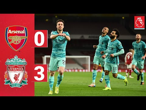 Highlights: Arsenal 0-3 Liverpool | Jota's brace and a Salah special win it at the Emirates