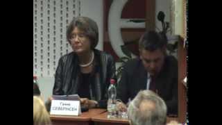 Ганне Северінсен про українську правову систему