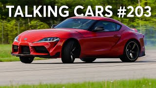 2020 Toyota Supra; 2019 BMW Z4; Exploding Sunroofs | Talking Cars with Consumer Reports #203