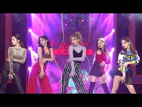 Red Velvet(레드벨벳) - RBB(Really Bad Boy) @인기가요 Inkigayo 20181209