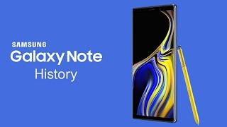Samsung Galaxy Note History