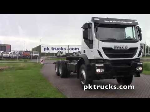 iv3738 - Iveco TRAKKER AD380T38H 6x4  chassis cabin - NEW