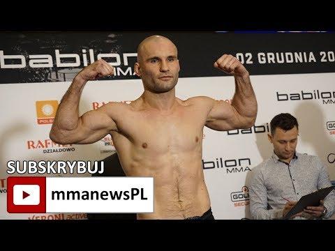 Babilon MMA 2: Łukasz Bieńkowski spodziewa się mocnych wymian z Rafałem Haratykiem