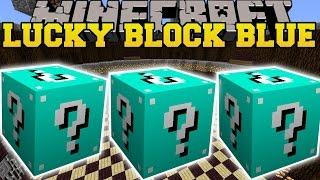 Minecraft: BLUE LUCKY BLOCK MOD (MOST INSANE BLOCKS EVER!) Mod Showcase