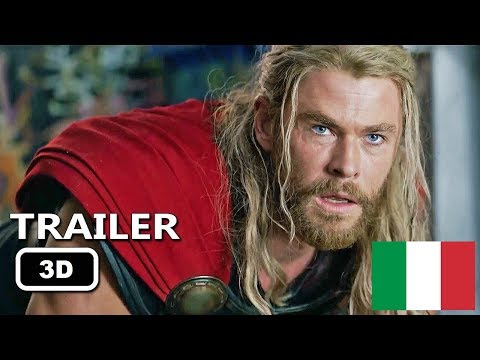 Thor 3 Ragnarok Trailer Ufficiale Italiano in 3D #YT3D