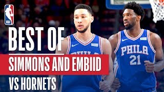 Ben Simmons & Joel Embiid DO WORK In Philly!