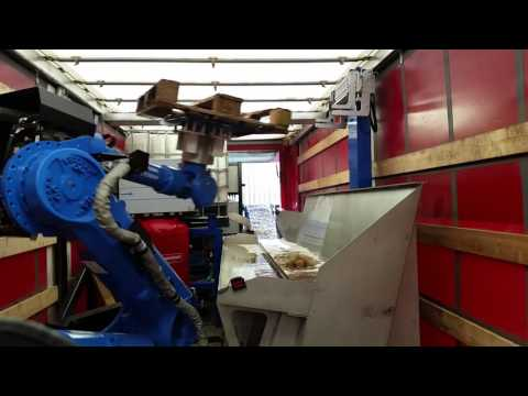 Pallet Disassembly using Robotic Underwater Sawing