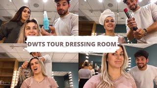 DWTS TOUR DRESSING ROOM *HAIR TUTORIAL W/ ALAN