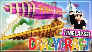 #TeamOli Battle-Blimp!   CrazyCraft 3.0 Build Timelapse