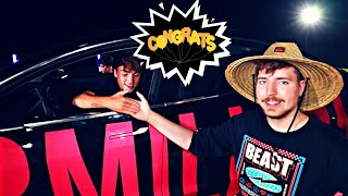 MrBeast | I Gave My 40,000,000th Subscriber 40 Cars (VIDEO REACTION)