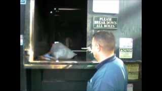 How To Operate the Trash Compactor