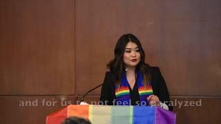 2017 UC Berkeley Lavender Graduation Speech by Michelle Kim