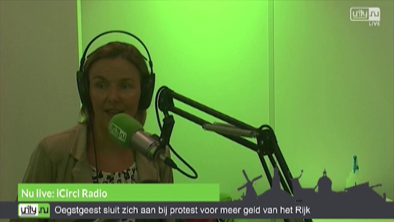 Anke Schuttemeyer van NedNXT in iCircl Radio