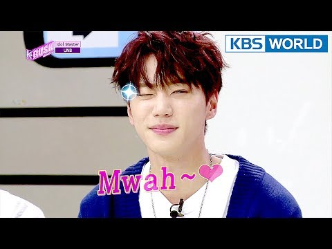 Idol Master - UNB [KBS World Idol Show K-RUSH3 / ENG,CHN / 2018.04.13]