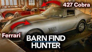 $4,000,000 Barn Find - Rare Ferrari AND 427 Cobra Hidden for Decades   Barn Find Hunter - Ep.24