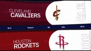 Houston Rockets vs Cleveland Cavaliers Game Recap | 1/11/19 | NBA