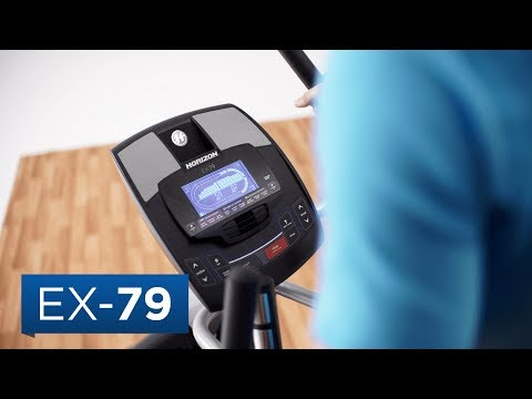 video Horizon EX-79 Elliptical Trainer
