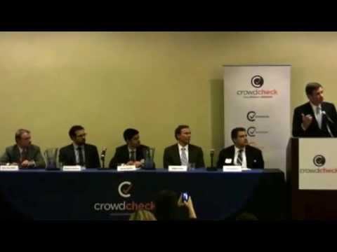 CrowdCheck Second Annual Crowdfunding Conference - Sen. Mark Warner Keynote Address