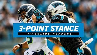 Julius Peppers on Russell Wilson and Seahawks