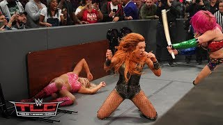 Becky Lynch, Charlotte Flair and Asuka trade punishing blows in thrilling TLC Match: WWE TLC 2018