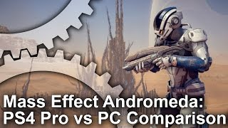 Mass Effect: Andromeda - PS4 Pro vs PS4/PC Grafikai Összehasonlítás