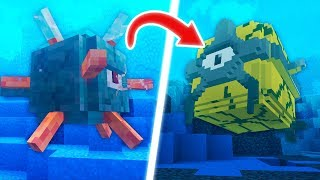 HOW MINECRAFT MOBS USED TO LOOK...