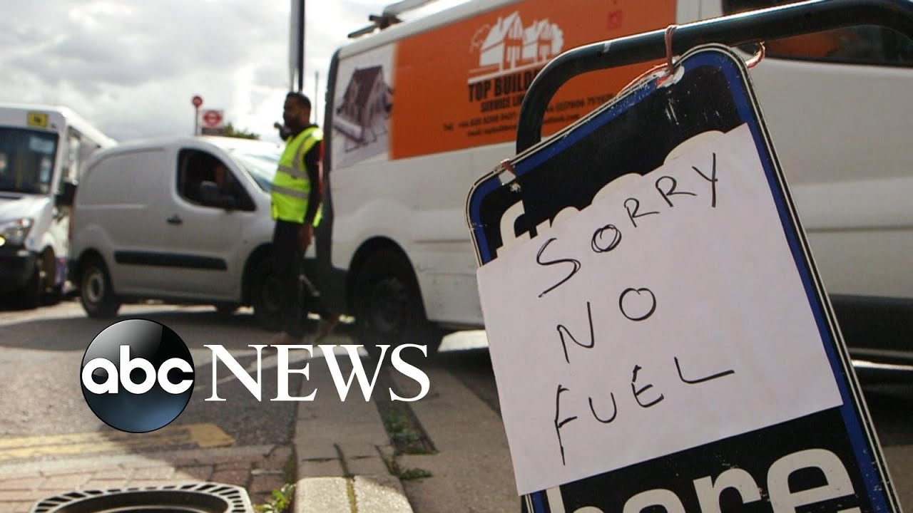 Worst fuel crisis in Britain in decades