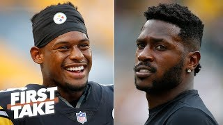 JuJu Smith-Schuster will have a better 2019 NFL season than Antonio Brown - Stephen A.   First Take